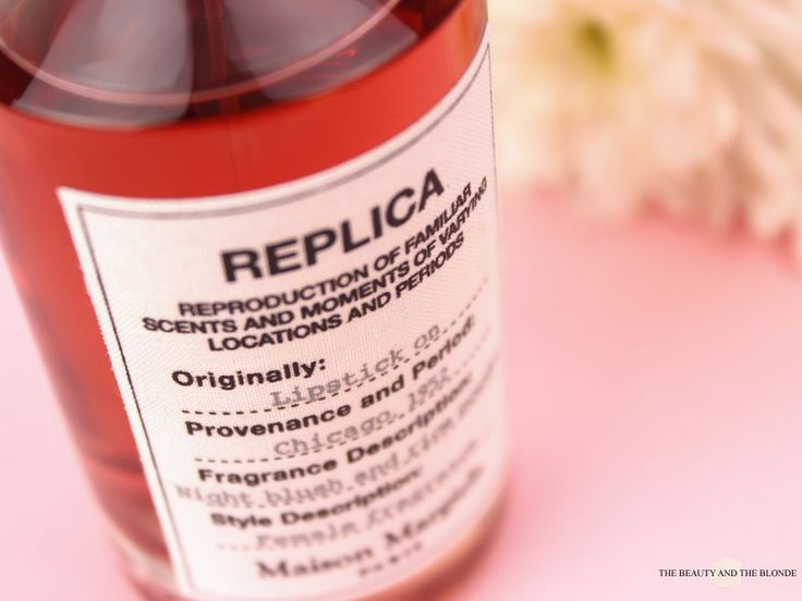 Maison Margiela Replica Lipstick On Label