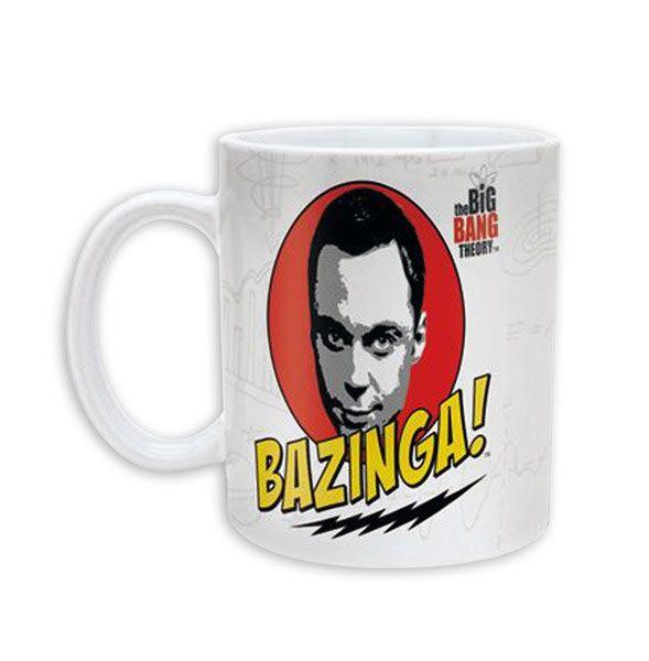 Taza The Big Bang Theory. Sheldon Bazinga