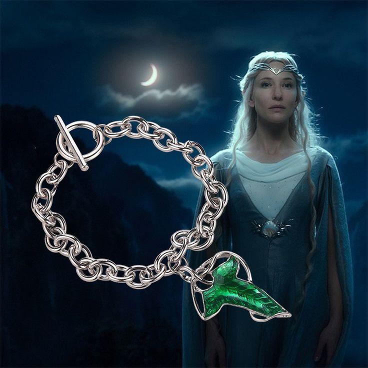 Elven Leaf Bracelet  //Price: $9.00 & FREE Shipping //     #BilboBaggins #lordoftherings #LOTR #thehobbit #hobbit #ExtendedEdition #Tolkien #Sauron #Smeagle #Frodo #myprecious #erebor # gandalfthegrey #filixkili #thehobbitanunexpectedjourney #radagastthebrown #theonering