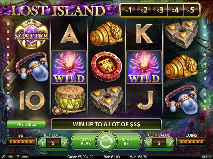 Lost Island on Behance