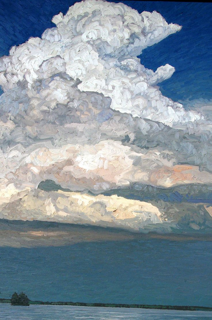 Peter Rotter - After the Storm - beautiful brushwork