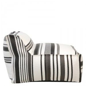 Striped Outdoor Chair