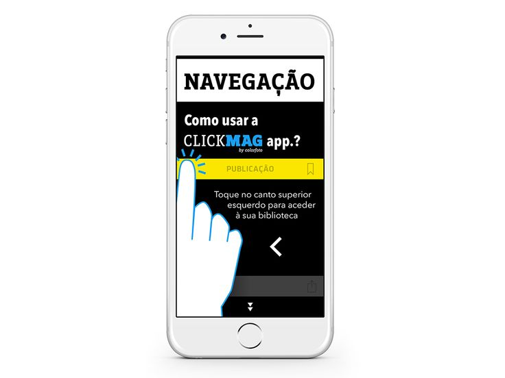 NAVEGAÇÃO – How to use the ClickMag app.?  (Sample some spreads).