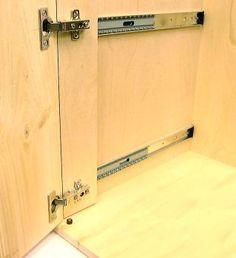retractable cupboard door hinges - Google Search