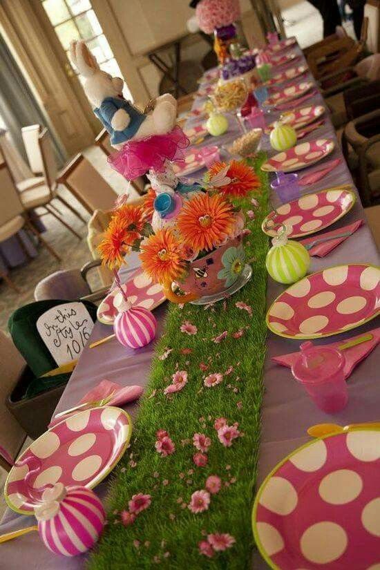 Alice Themed Party Ideas (image only)