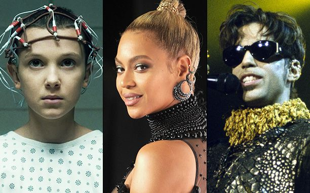 """Stranger Things, Beyoncé, and Pokémon Go are among the most popular entertainment sensations of 2016, according to Google's roundup of the year's most frequent searches.  Coming in second on the list of most-searched topics is Prince, the legendary musician whose death helped propel """"Purple Rain"""" to the top of the song search list, just behind Beyoncé's """"Formation."""""""