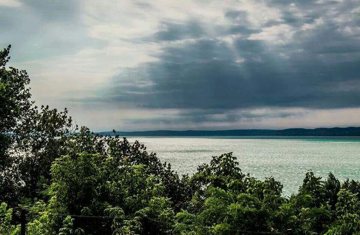 Lago Balaton, un atardecer veraniego