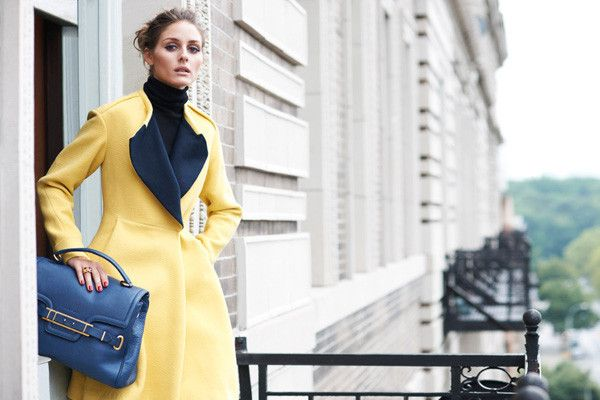 Olivia Palermo's appears in a Vogue Girl Korea spread, styled with Jill Stuart handbags.