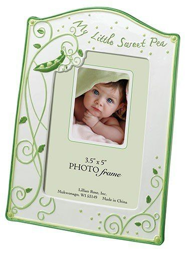 Sweet Pea Baby Photo Frame