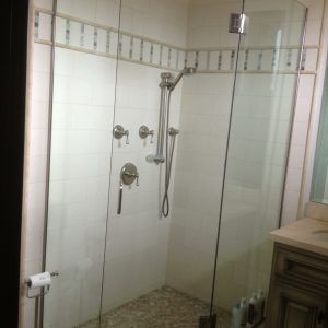 Glass Shower Enclosures Without Doors