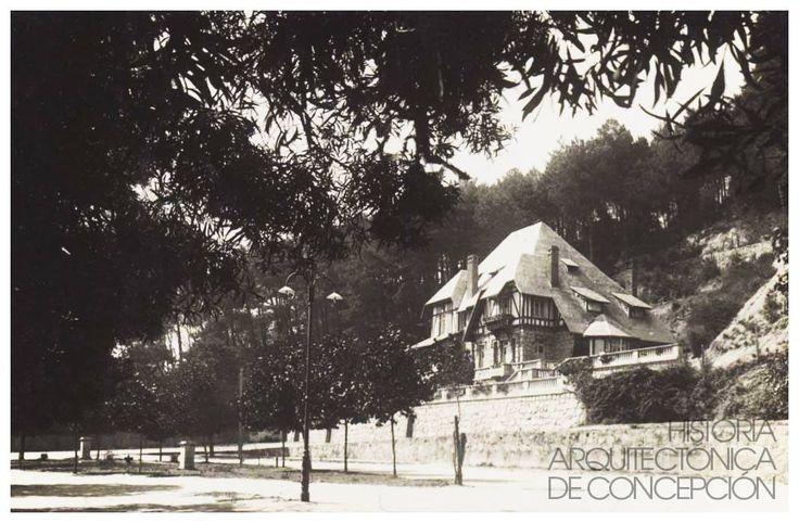 Casa Wilheilm en Concepción, arquitecto ; Arnoldo Michaelsen