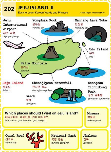 202 Learn Korean Hangul Jeju Island 2