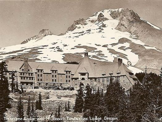 A VISIT TO TIMBERLINE LODGE AT MT. HOOD, OREGON