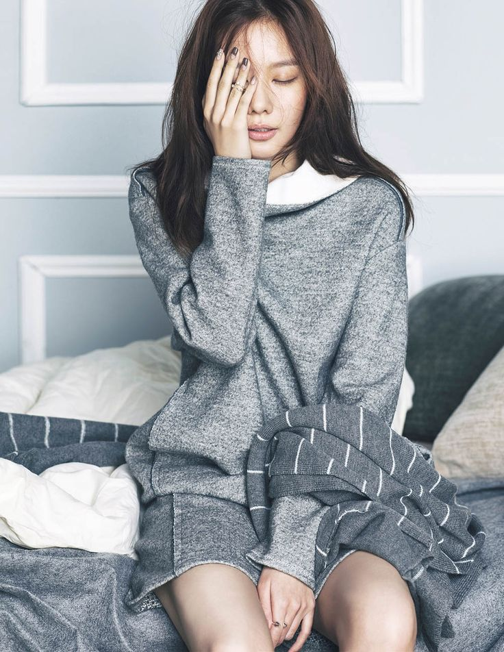 Kim Ah Joong - Elle Magazine November Issue '14