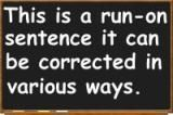 Run-On Sentence: Definition and Examples