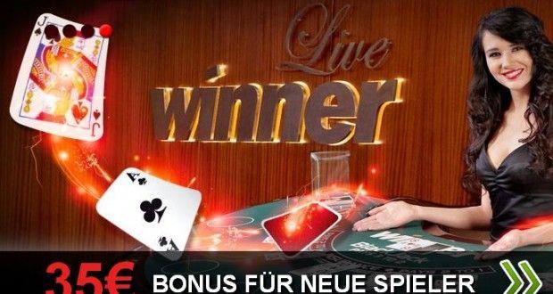 Winner Casino, roulette, live roulette, livecasino
