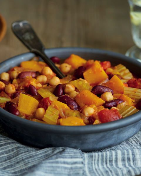 Team GB Rowing athlete Katherine Grainger likes butternut squash! But we think she'd LOVE this Butternut Squash and Bean Chilli recipe more :)
