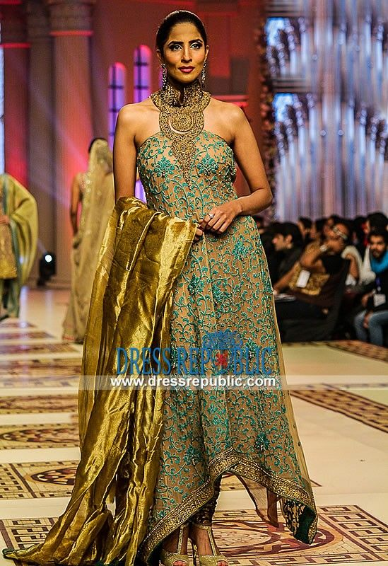 Latest Pakistani Designer Suits Online 2015 - Mehdi Dresses at TBCW