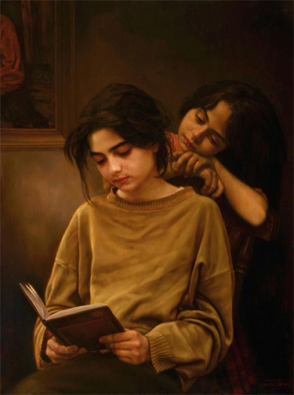 Iman Maleki, realistic paintings