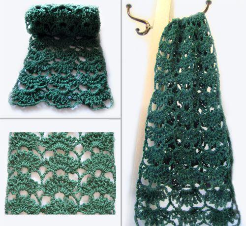 596 Best Hooker Scarvescowls Images On Pinterest Crocheted Scarf