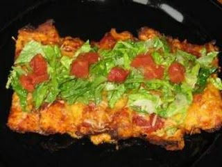 The one thing I've missed the most since starting the Ideal Protein Diet....enchiladas...I am SO going to try these!