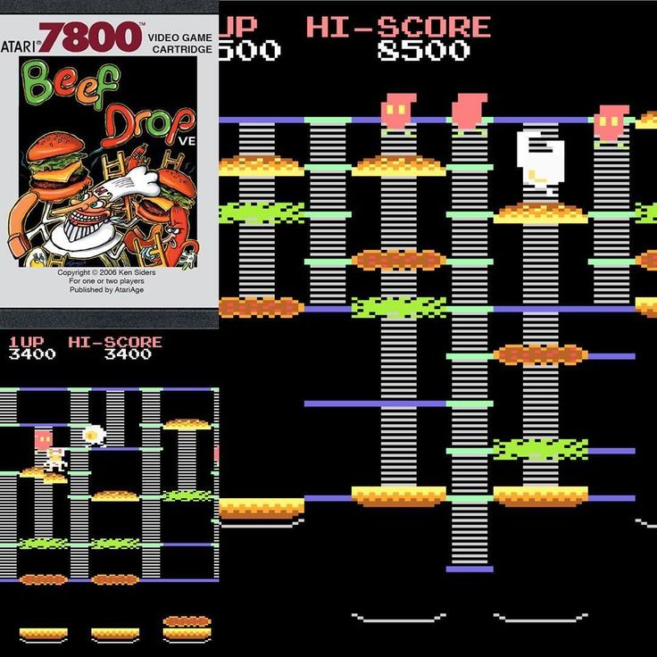 Shared by atariage #retrogames #microhobbit (o) http://ift.tt/2dQGR2A Drop is an awesome Burgertime inspired homebrew for the Atari 7800! #Atari #AtariAge #retrogaming #classicgames  #vintage #gamecollecting #throwback #flashback #videogames #classicgaming #classic #retro #1980s #atari5200 #atari7800 #oldschool #gameover  #classicgames #atarilynx #arcade #arcadegames #hipster #game #games #atari2600 #atari800 #atari400 #burgertime