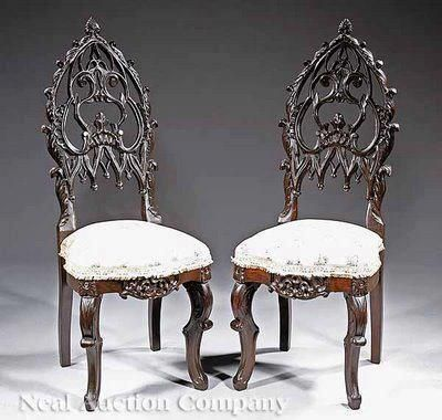 Image result for victorian gothic furniture