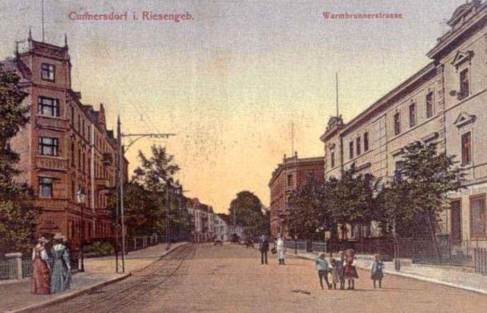 Ulica Wyczółkowskiego, widok ulicy od strony ul. Wolnosci.