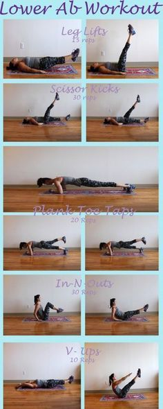 Lower Ab Workout | The Defined Dish.....to get more fitness and motivation information visit our website >>> http://idiet.idlife.com >>> http://idiet.idlife.com