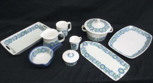 Turi Design TOR Viking Figgjo Flint Mid Century Dishware 11 Pieces | eBay