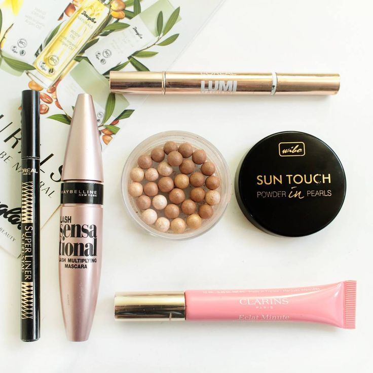 M everyday minimal make up loreal clarins wibo maybelline drugstore