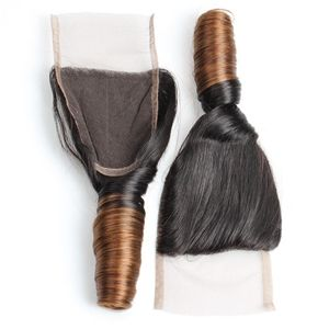 【Malaysian Diamond Virgin Hair】aliexpress hair 10A 4X4 Brazilian Malaysian Peruvian Indian Virgin Free Middle Three Part spring curly Silk  Full lace Closure Hair Pieces