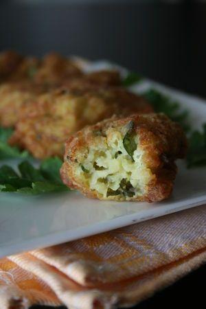 Croquettes de courgettes - Cuisine crétoise
