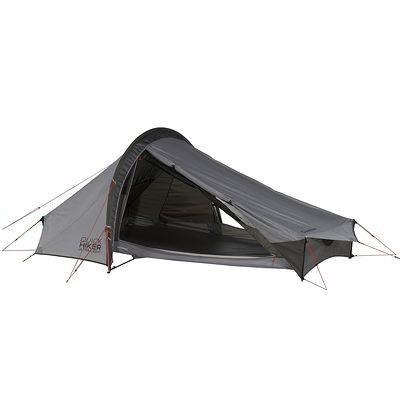 150€ / Tente 2 places QuickHiker Ultralight QUECHUA / 1,96 kg. Housse compacte de 40x12x12cm / Espace Intérieur : l130 L210 H105