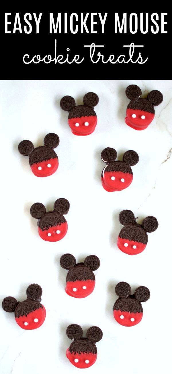 how to make mickey cookies