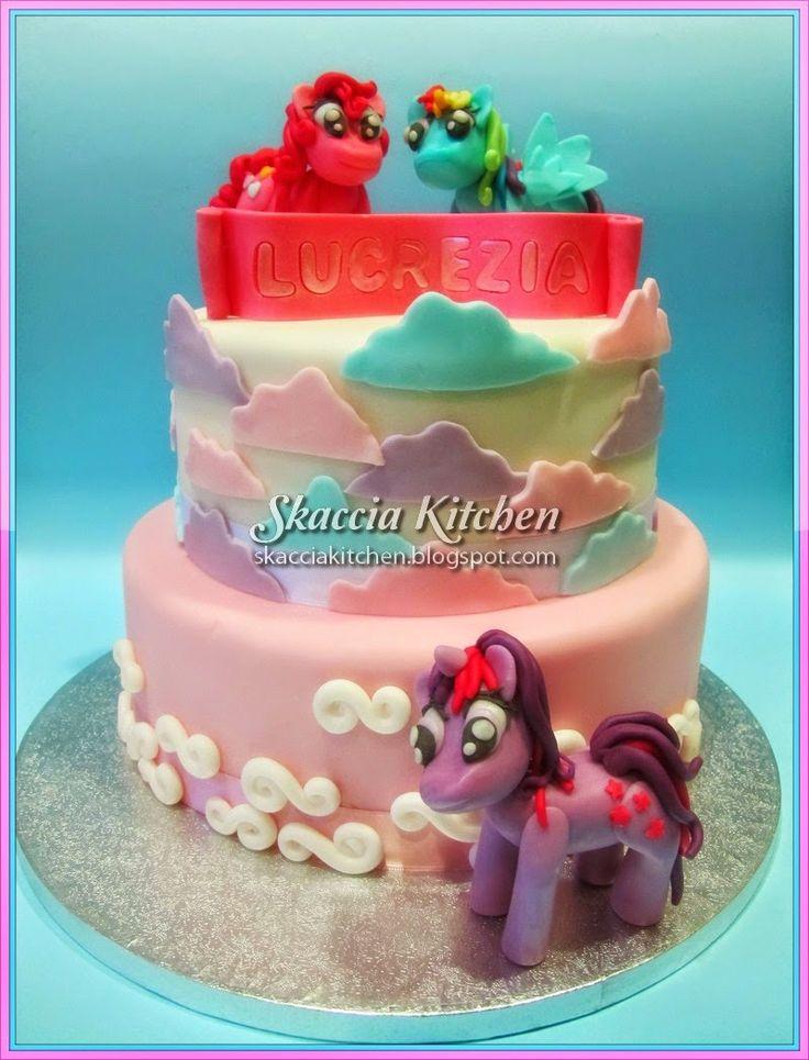 SKACCIA KITCHEN: My Little Pony Cake