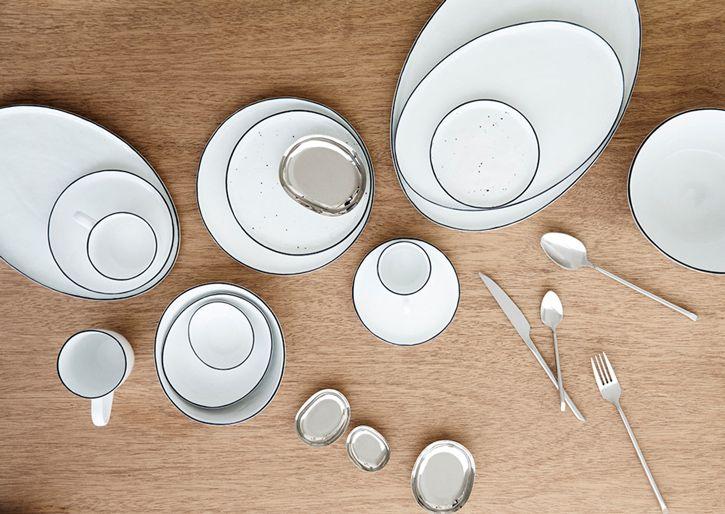 BROSTE COPENHAGEN Tableware Salt HALL 5A COMPLEMENTS