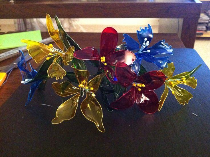 30 besten wire flowers bilder auf pinterest blumenhandwerk feenfl gel und harze. Black Bedroom Furniture Sets. Home Design Ideas
