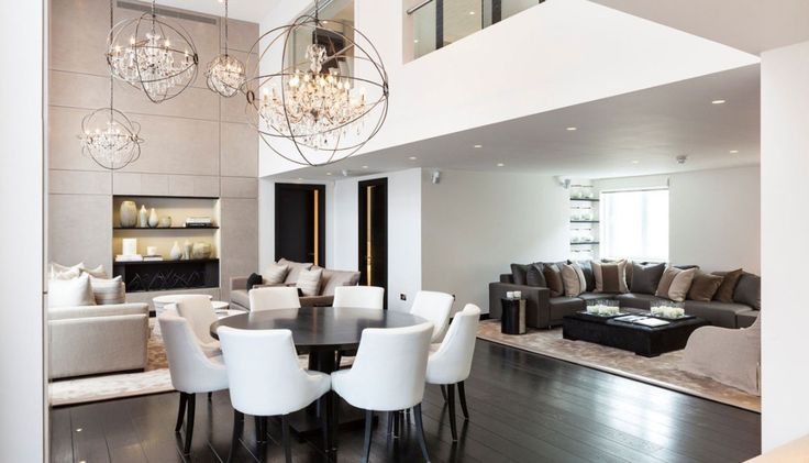 Stylish London Apartment for rent - Henrietta Street I know this is an apartment, but I would love a loft space with this same type of design approach.
