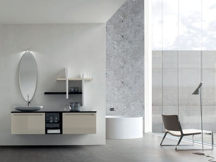 Download The Catalogue And Request Prices Of Rush   Composition 16 By Arcom,  Bathroom Cabinet
