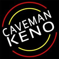 Caveman Keno Neon Sign