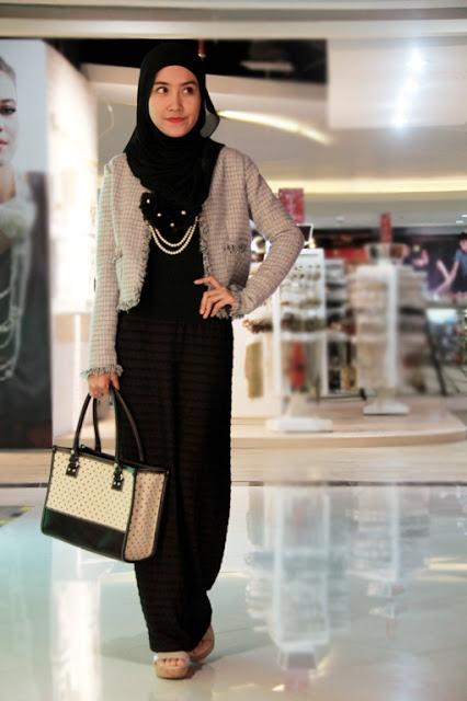 simple elegant hijab