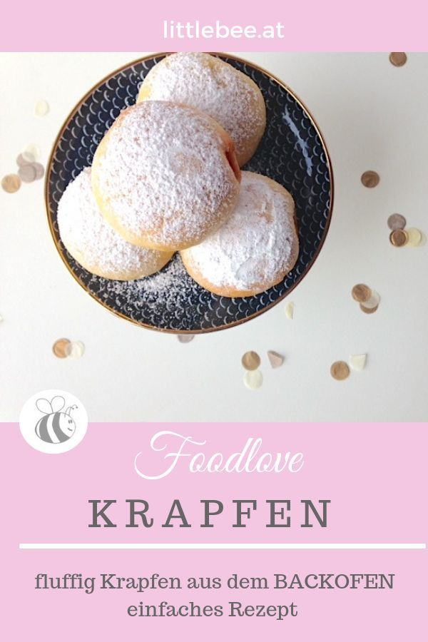 Krapfen aus dem Backofen | Rezepte für Süßspeisen ...