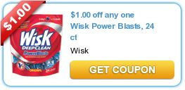 $1.00 off any one Wisk Power Blasts, 24 ct