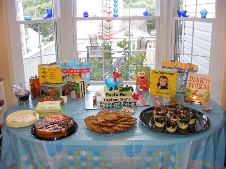 Book Theme Baby Shower Party Ideas Pinterest Baby
