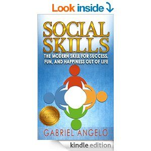 """The first foremost authority book ever on social skills has been rereleased in the updated """"Social Skills 2nd Edition"""" by best-selling author Gabriel Angelo, with brand new added contents, giving you the most in depth complete book on social skills loaded with tons of scientific resources, practical applications, and weekly exercises all to improve yours or others' social skills."""