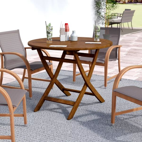 rothstein folding solid wood dining table wooden dining on Circular Folding Dining Table id=67613