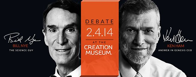 Bill Nye vs. Ken Ham Debate - I am not going to miss this! Ken Ham is incredible wise and God will work through this debate!