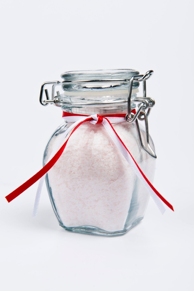 Peppermint Pedicure Foot Soak- 5 oz jar. $8.00, via Etsy.  My favorite, this fragrance is the herb, peppermint. It's so soothing I can soak my feet and ease my headache at the same time!