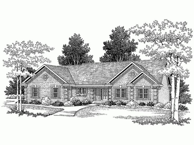 11 best floor plans with see through fireplace images on for 1700 sf ranch house plans